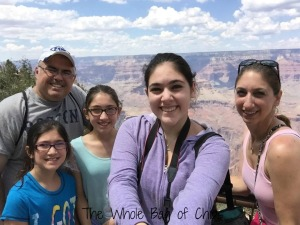 This is us. In 2015 we traveled all over the country as a family for five weeks. If you'd like to read all about it, visit the #crosscountryadventure2015 page on the blog!