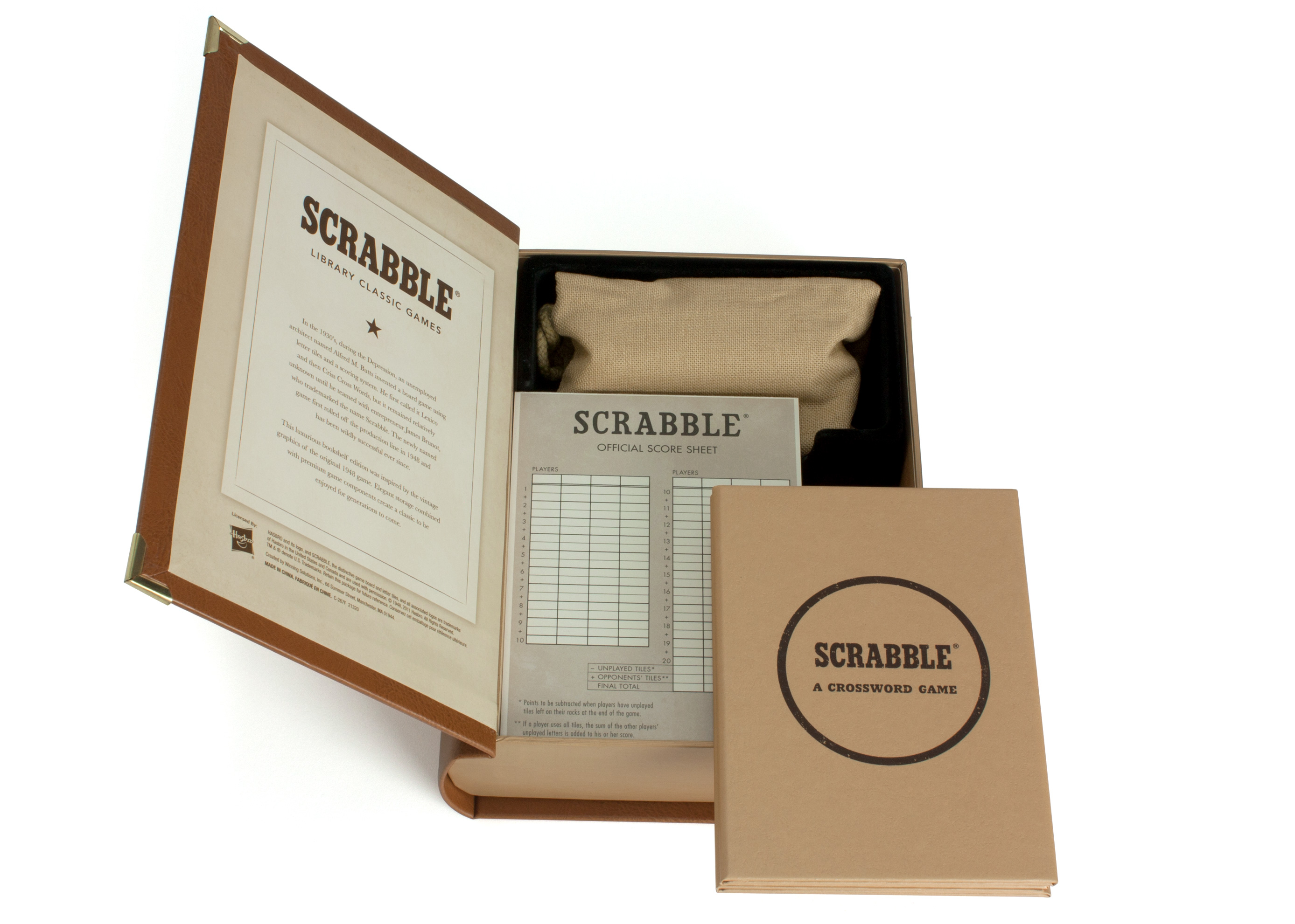 Scrabble library classic edition -great family game for summer.