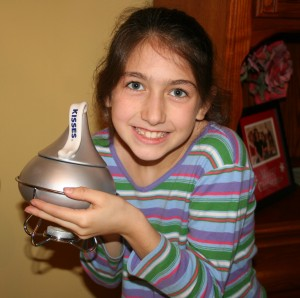 Hershey Kiss Fondue Kit from Elizabeth