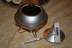 Hershey's Kisses Chocolate Fondue
