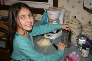 Kids can be cheese graters