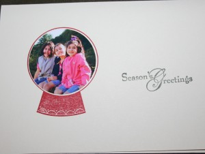 2010 Snowglobe card