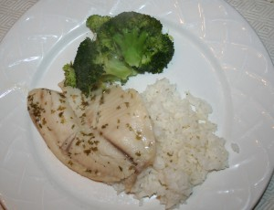 Flounder with Lemon and Dill (Tilapia)