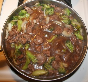Sweet and Sour Beef and Broccoli Teriyaki