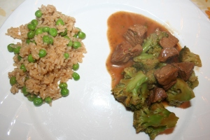 "Easy ""Chinese"" Beef and Broccoli"