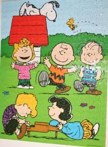 Peanuts 550 piece puzzle
