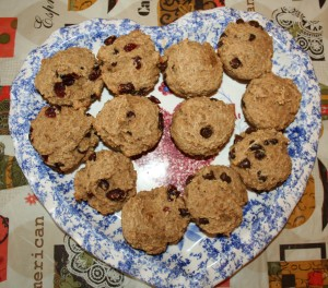 These muffins are hearty, healthy and taste great!