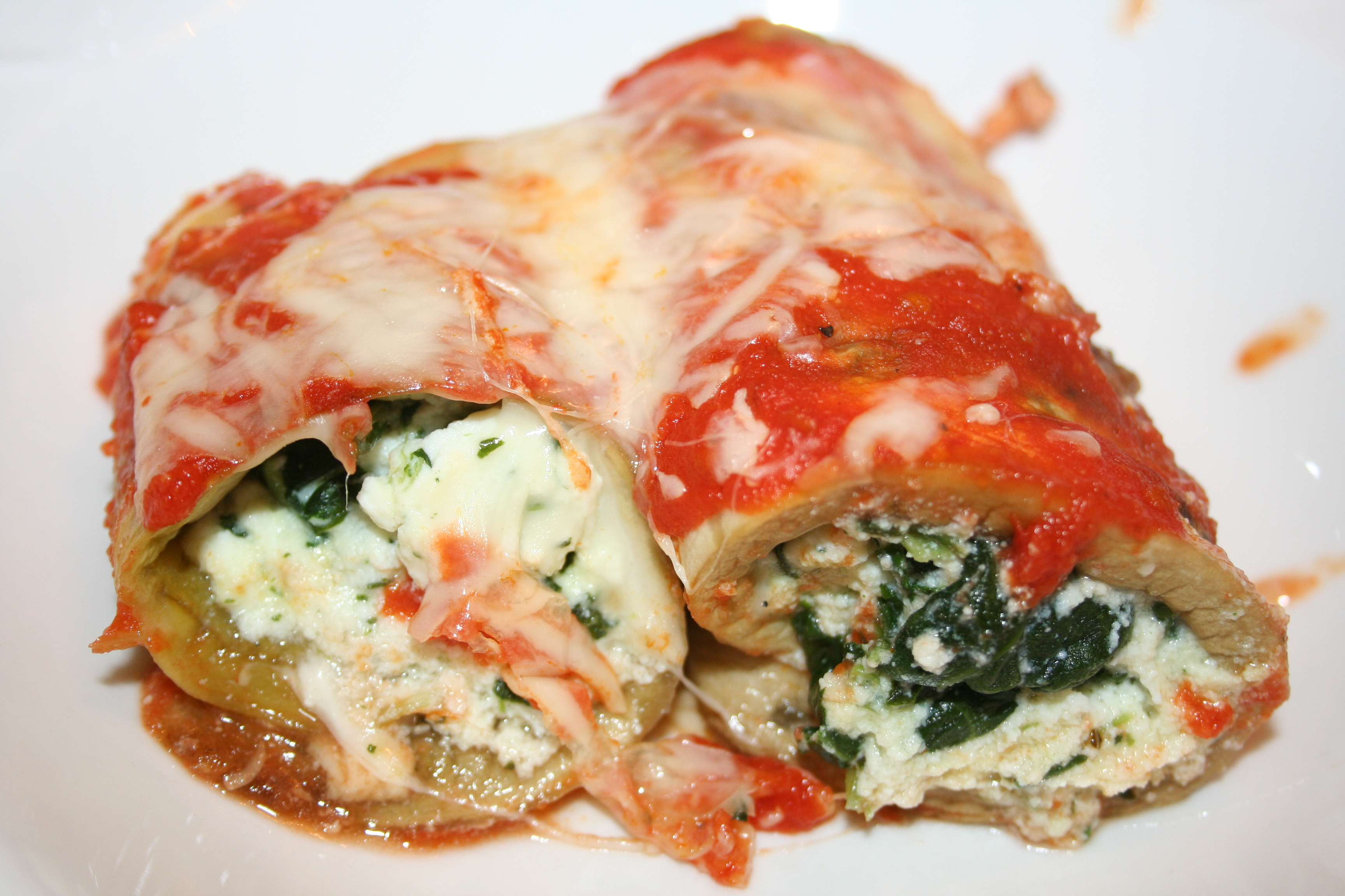 ... For Dinner Wednesday: Eggplant Rollatini | The Whole bag of Chips