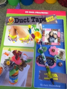 A book, a kit and oodles of duct tape...the possibilities were endless!
