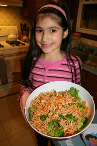 So proud! Enjoy your salad and Happy Chinese New Year!