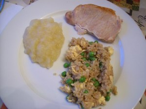 This Chinese Fried Rice is great as a side dish for any meal. We last used it when we had pork chops.