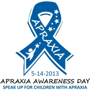 Tuesday is Apraxia Awareness Day