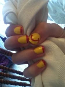 Ronald McDonald nails