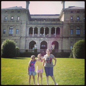 We may not live in a mansion but we can visit one whenever we'd like to!