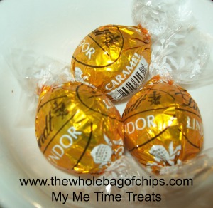 With their smooth, irresistible caramel centers, these LINDOR truffles are my Me Time Treats!