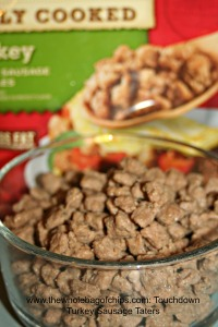 Wait til you see the great recipe that I created with the Jimmy Dean Turkey Sausage Crumbles!