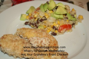 With the added spices and Panko bread crumbs, this chicken was a huge hit!