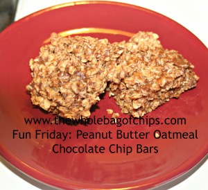 This was an after school snack that was quick to make and disappeared just as fast!