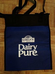 Two lucky commenters have one Dairy Pure Milk totes!