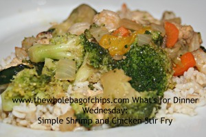 I loved the flavor in this stir fry!