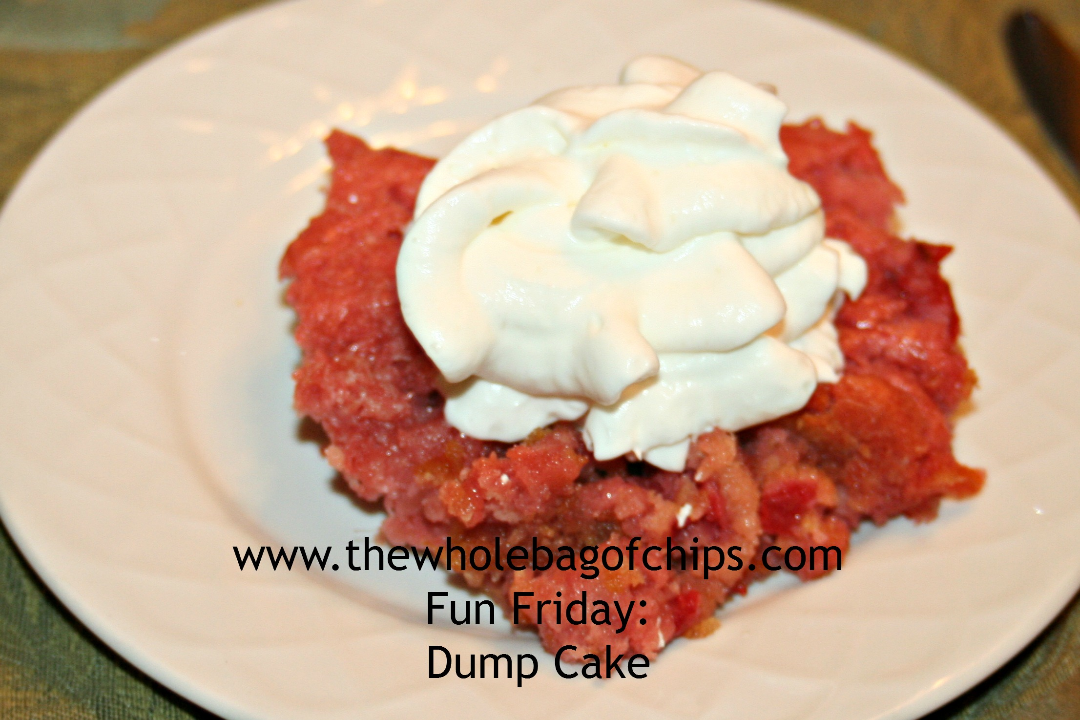 Fun Friday: Dump Cake for April Fools Day or any day! | The Whole bag ...