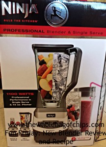 A new blender for all our delicious smoothies!