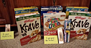 This week's haul was just as good, if not better, than last week's! I had $22 in Extra Care Bucks and several manufacturers coupons to combine with the new week's sales and promotions at CVS!