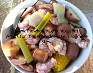 Frogmore Stew: I couldn't get enough of it!