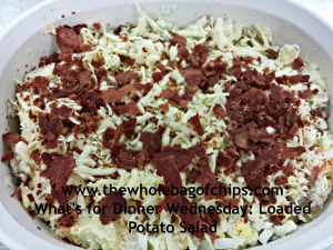 As a lover of loaded baked potatoes with bacon and cheese, I loved this recipe!