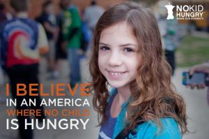No one should be hungry in America, especially not a child.