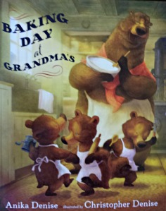 Announcing the winner of Baking Day at Grandma's!