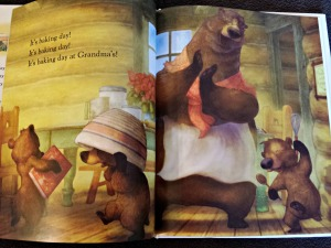 As I flipped through my book, I found each illustration to be more beautiful than the last.