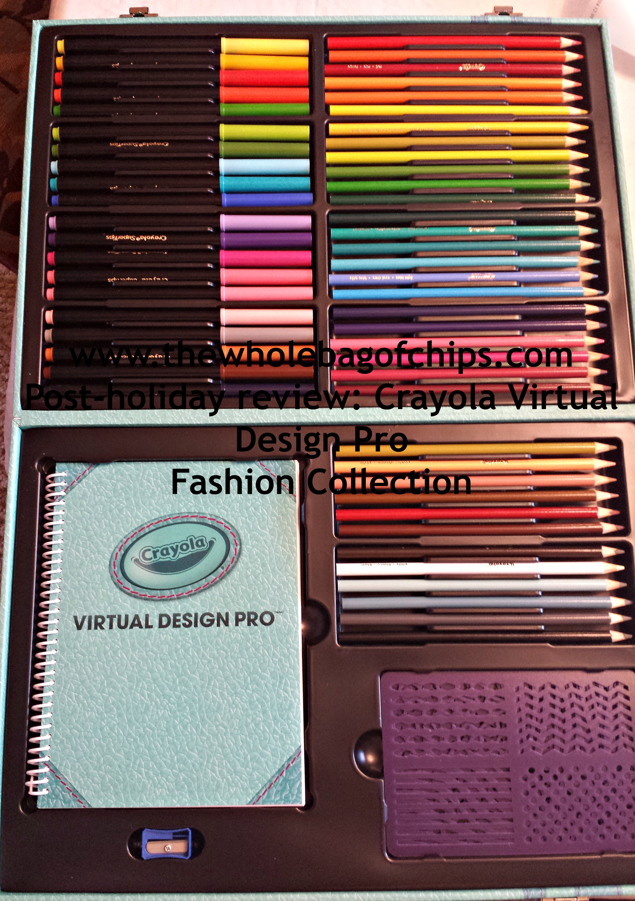 Post Holiday Review Crayola Virtual Design Pro Fashion Collection The Whole Bag Of Chips
