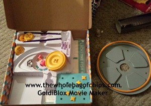 Stuck inside again? Make your own animation with the GoldiBlox Movie Maker kit!