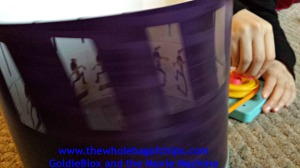 Our very own zoetrope! How cool is that?!?!