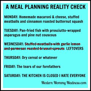 I'm pretty sure we all can relate. Don't you think so? My personal favorite is Friday's meal.