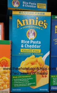 We've tried both the orange cheese and the white cheese versions of Annie's and it's been well received both times.