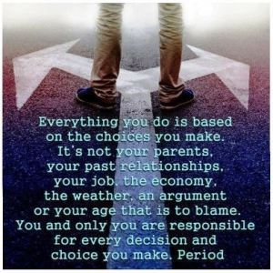 Make good choices image